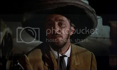 Just when he thought he was out - Robert Mitchum in The Wonderful Country.