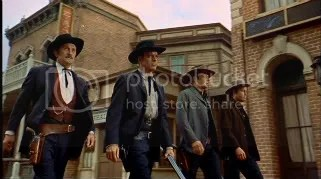 Doc Holliday and the Earps on the way to the O.K. Corral