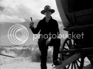 Wyatt Earp (Henry Fonda) calling the shots at the OK Corral.