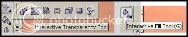 transparency dan fill tool