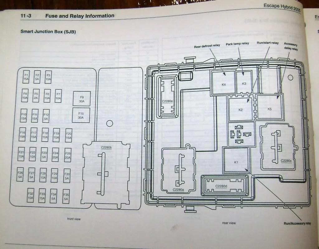 2005 ford escape xlt radio wiring diagram heat pump schematic trailer 39