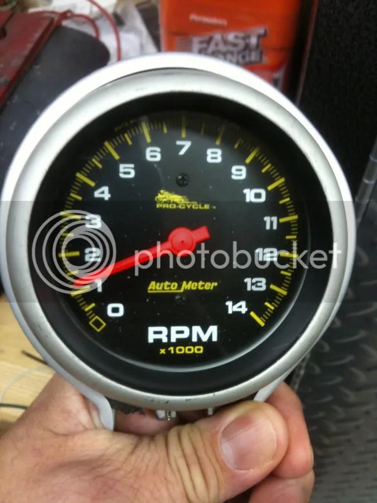 medium resolution of auto meter procycle tach install s suzuki sv650 forum sv650 sv1000 gladius forums