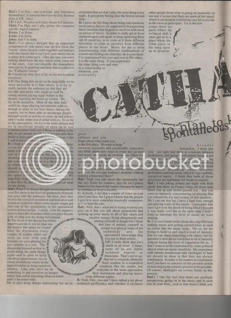Catharsis.