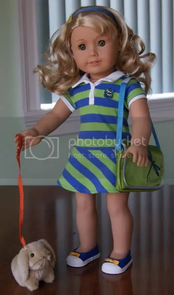 Lanie Doll Amp Meet Outfit American Girl Playthings
