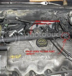 spi engine vacuum and coolant line questions ford focus forum rh focusfanatics com 2002 ford focus [ 1024 x 768 Pixel ]