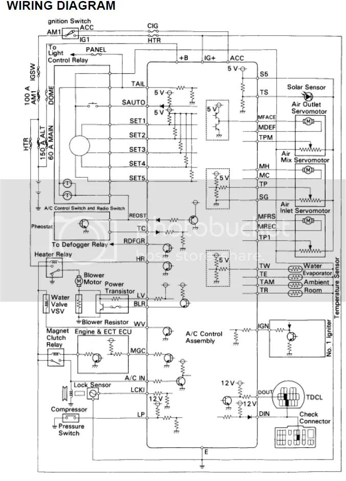 climate control wiring diagrams