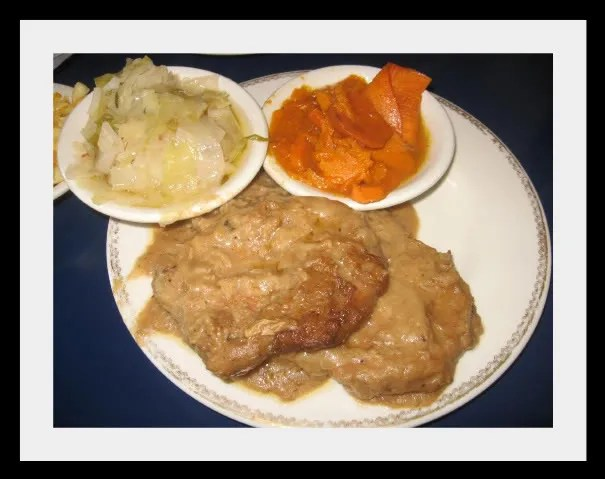 The Coffee Cup's Smothered Pork Chops