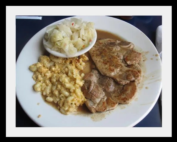 NoDa's Smothered Pork Chops