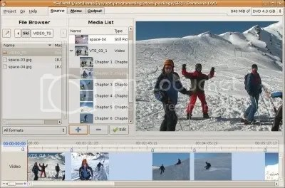 ScreenshotsactionAttachFiledogettar Bombono DVD 1.0 – Autoría de DVD