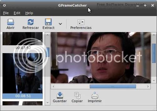 gframe GFrameCatcher 1.2 - Captura cuadros de tus videos