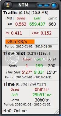 ntm1 Network Traffic Monitor 1.1