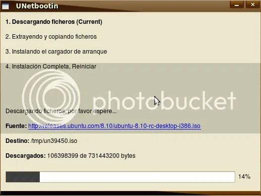 unetbootin UNetbootin - No gastes un CD para instalar Ubuntu 8.10