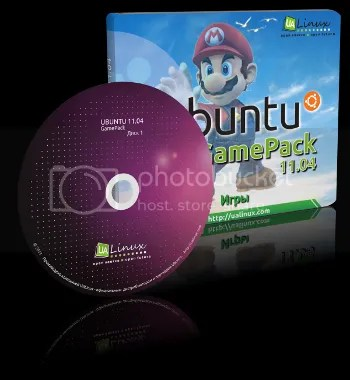 gamePack 350 Ubuntu Game Pack 11.04   5 DVD repletos de juegos