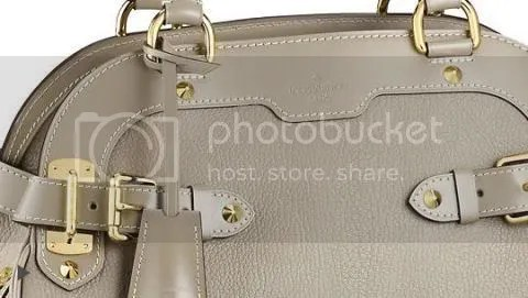 Details of the Louis Vuitton Le Radieux in Suhali Leather