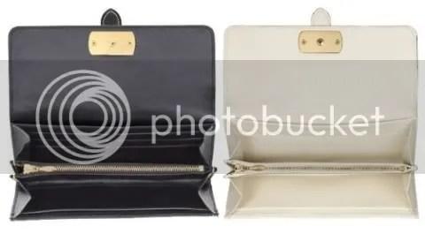 Detail shot of Louis Vuitton Wallet Le Favori in Suhali Leather