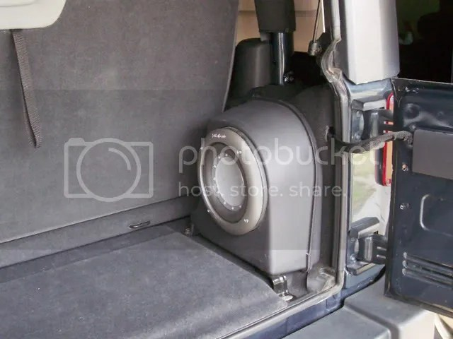 2003 Jeep Liberty Headlight Wiring Fosgate Subwoofer Upgrade Jk Forum Com The Top