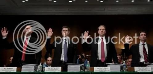 goldman sachs senate lineup
