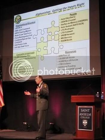 Petraeus lecture