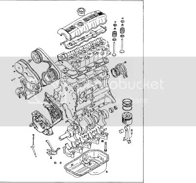 Labeled Diagram Of Engine And Exhaust Manifold Engine