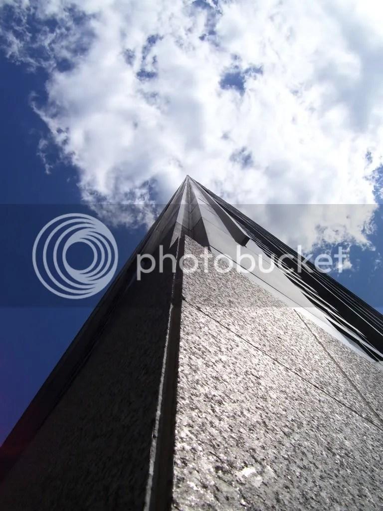 Looking up at big John, got vertigo?
