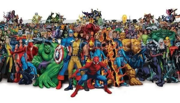 Some of the superheroes you may be familiar with but what about the ones youre not?