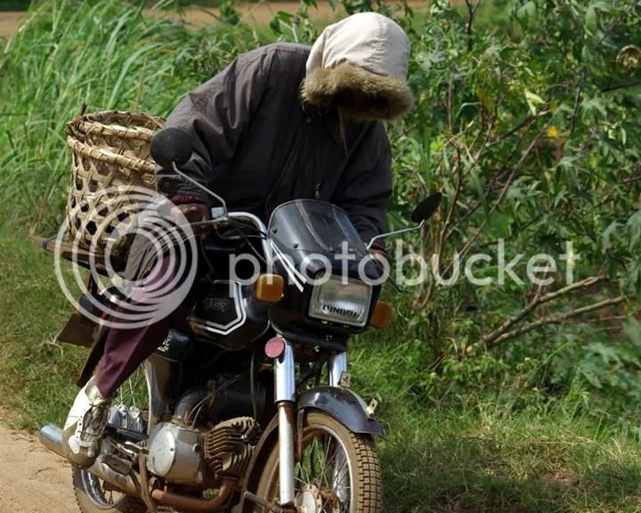 Uganda Motorcyclist