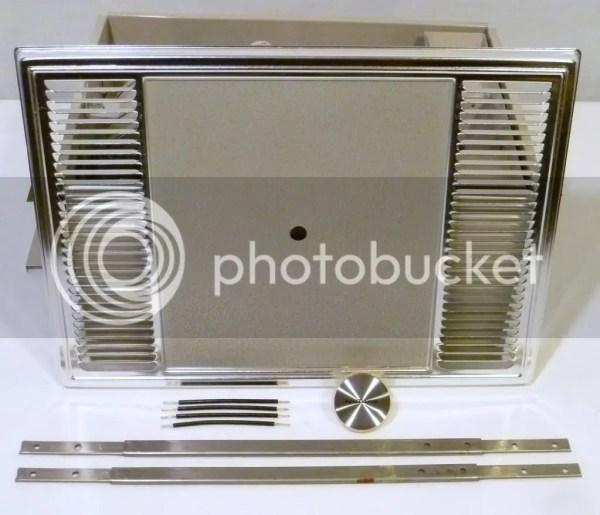 Vintage Nutone Heat-vent Bathroom Exhaust Fan Switch