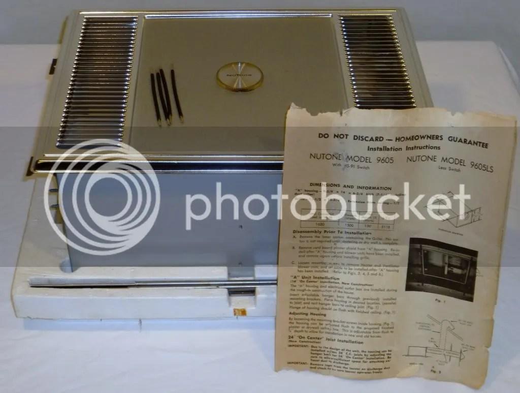 Vintage Nutone HeatAVent Bathroom Exhaust Fan Switch  eBay