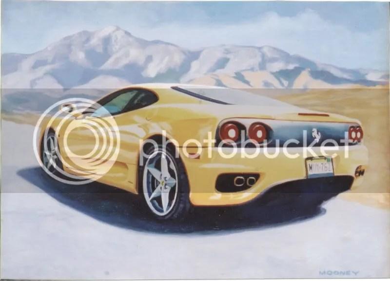 Esta es una imagen de un Ferrari