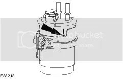 how do you change a diesel fuel filter on a p reg transit