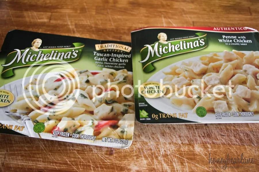 Michelinas frozen food