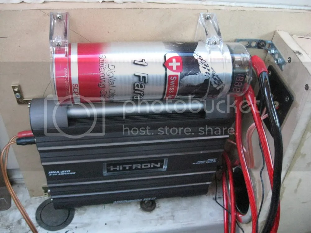 medium resolution of f truck build build logs ssa car audio forum 1 farad swiss audio capacitor 1400w 2ch