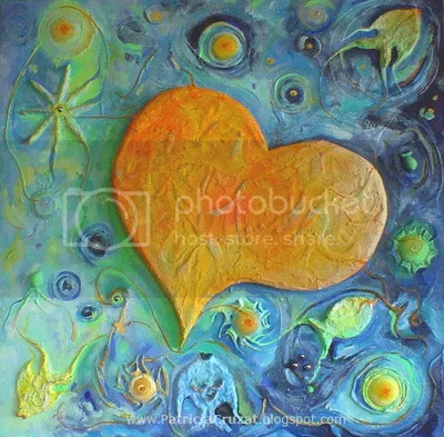 Orange Heart Pictures, Images and Photos
