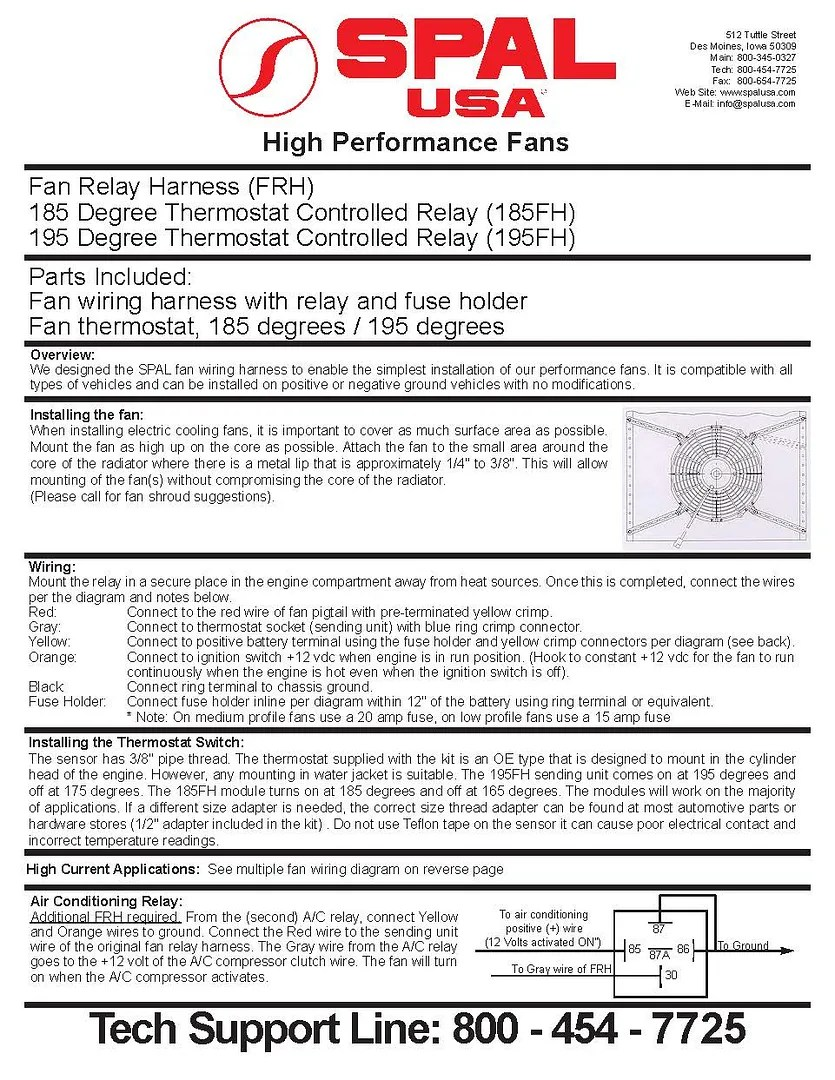 hight resolution of cooling fan wiring question archive colorado4x4 org forums