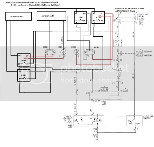 small resolution of heavy duty headlight harness wiring diagram
