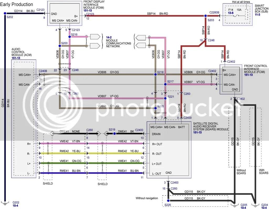 ford radio wiring harness diagram nissan x trail ecu 2008 edge stereo