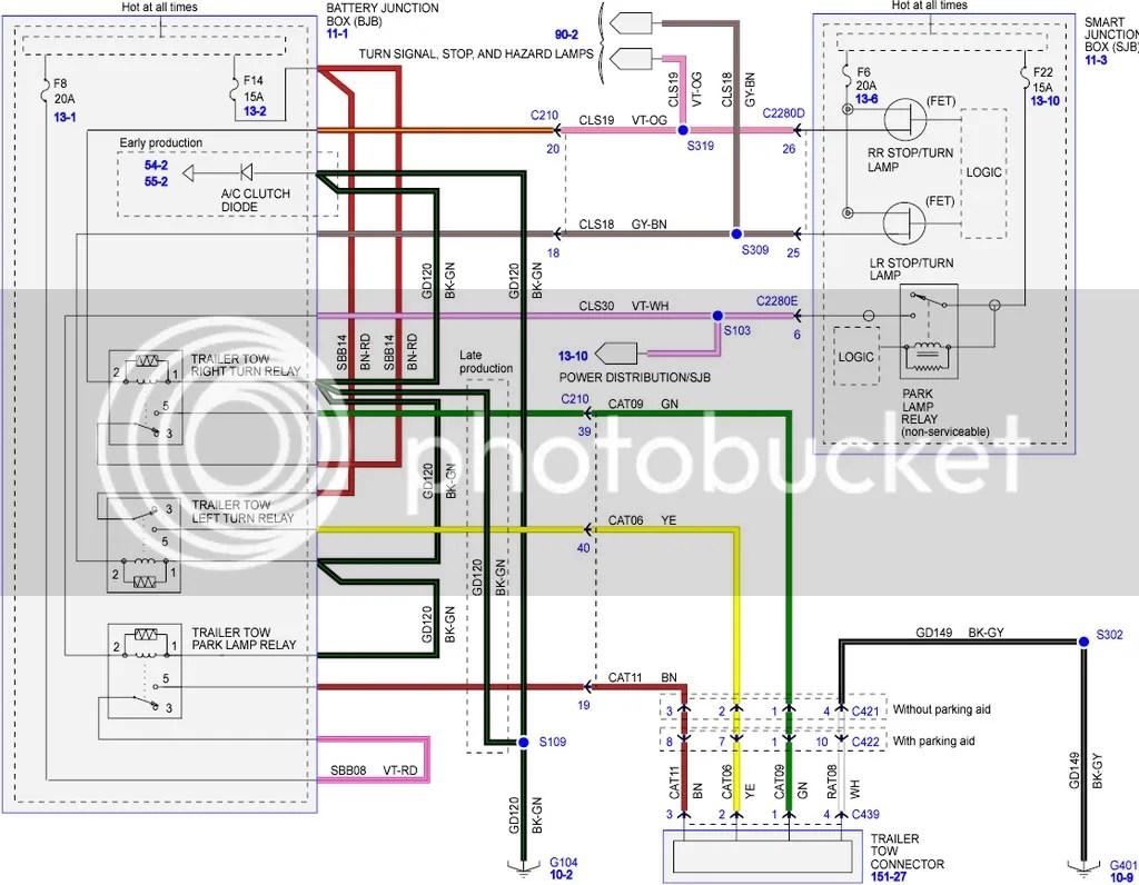 2016 ford fusion se radio wiring diagram dometic rv refrigerator escape city  view topic tow harness under bumper