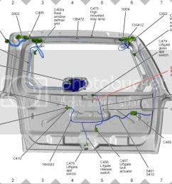 2009 ford escape lift gate wiring wiring diagram datasource 2009 ford escape lift gate wiring guide [ 1024 x 789 Pixel ]