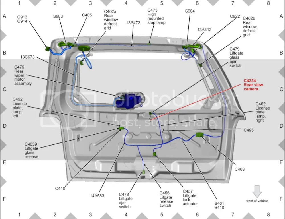 medium resolution of 2009 ford escape lift gate wiring wiring diagram datasource 2009 ford escape lift gate wiring guide
