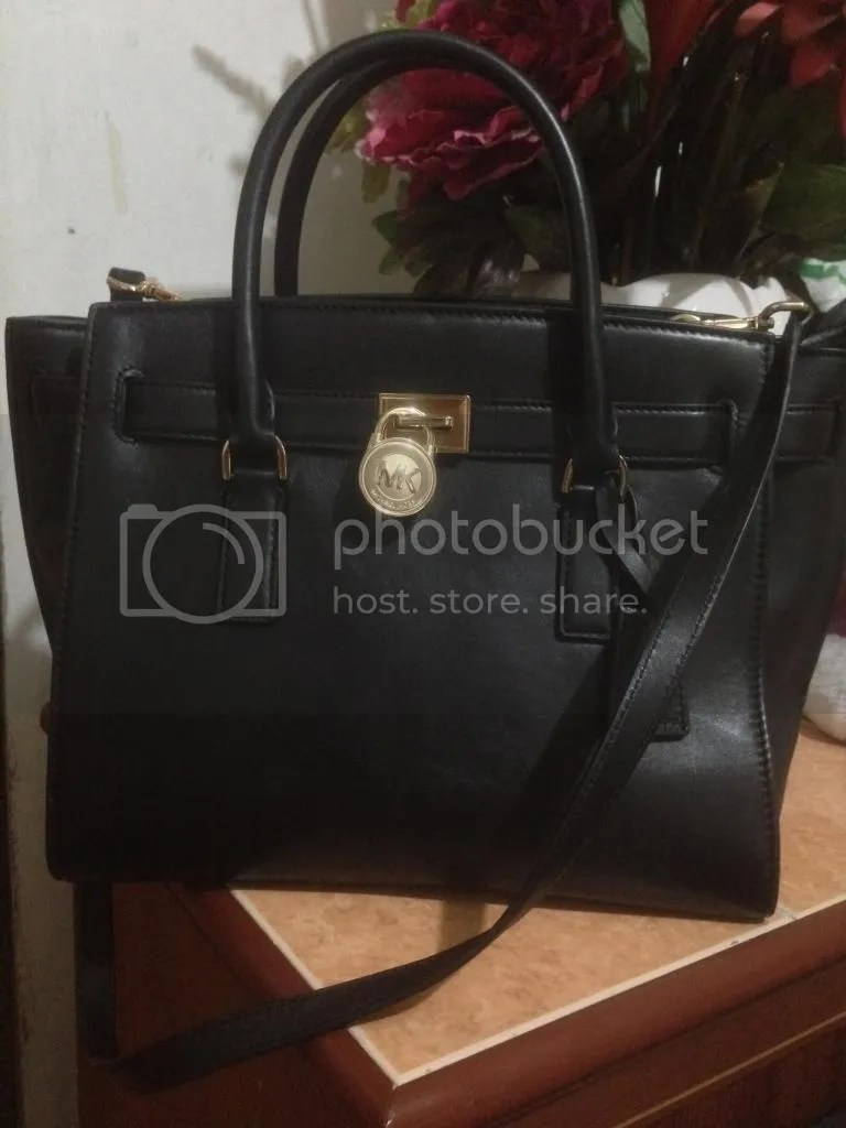 ff2c46517ec3 Adam always tells me not to buy anything just because it's on sale.  However, the fact that this Michael Kors Hamilton Traveler bag is on sale  on every ...