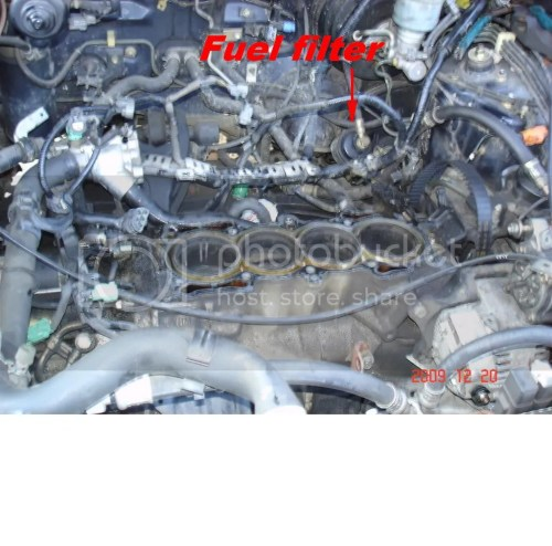small resolution of 94 honda accord fuel filter location