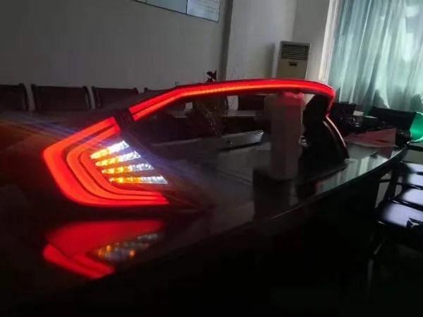 Civic Rear Tail Lights On 95 Honda Civic Distributor Wiring Diagram