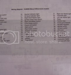 stator or regulator rectifier or xjrider com yamaha dt400 wiring diagram yamaha xj600 [ 1024 x 768 Pixel ]