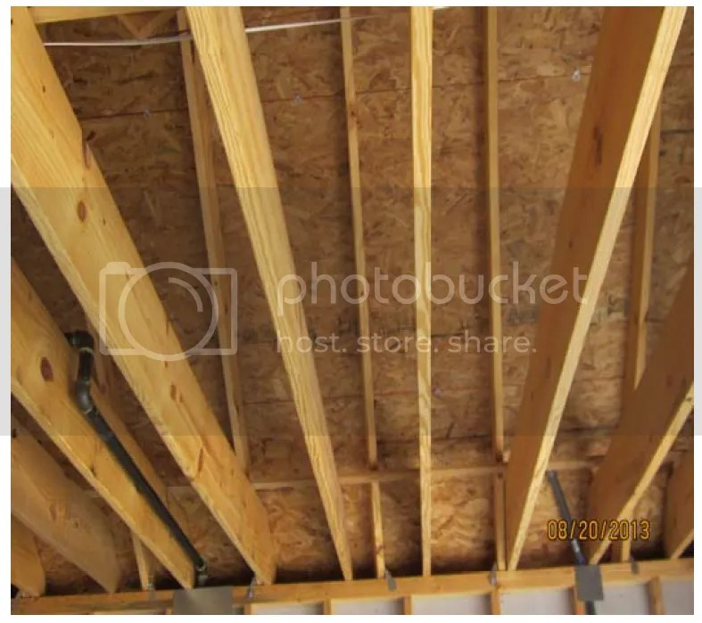Acceptable Lateral Support For Ceiling Joists Structural Inspections Internachi Forum