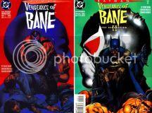 I love comic covers: Homage: Batman: Vengeance of Bane I & II