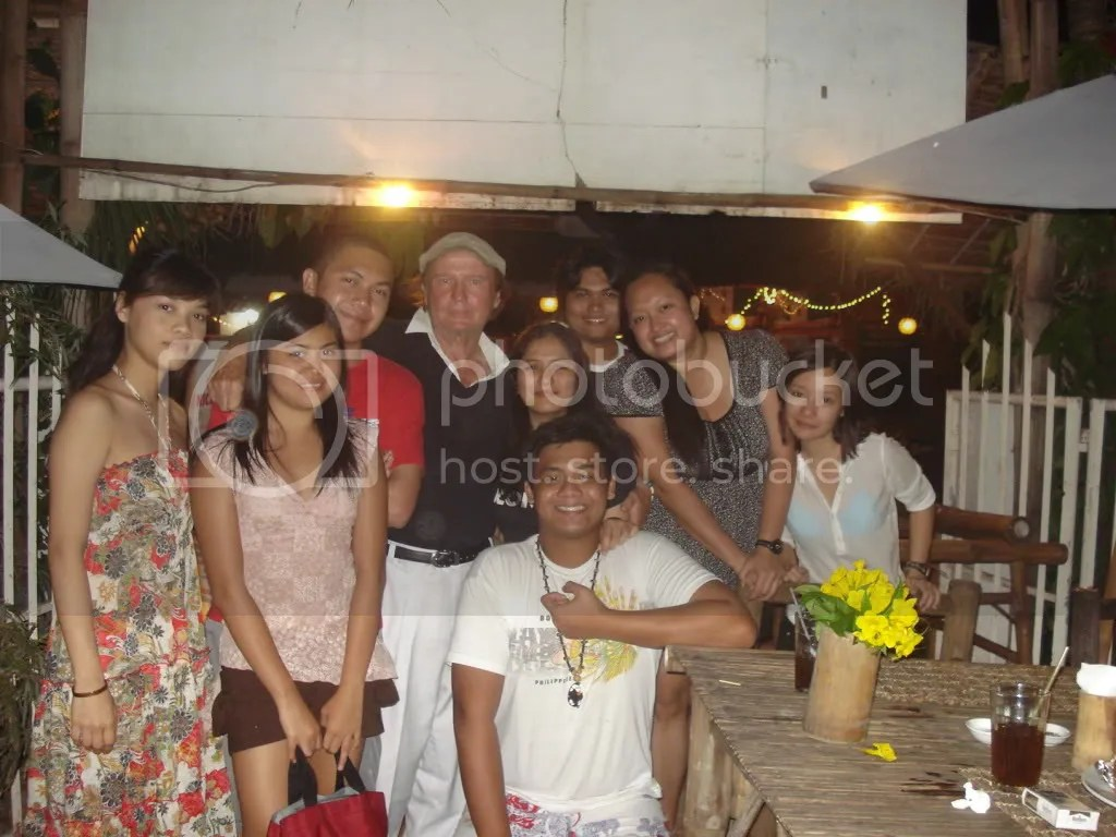 Us with Robert, D Jungle Grill and Restaurant Owner
