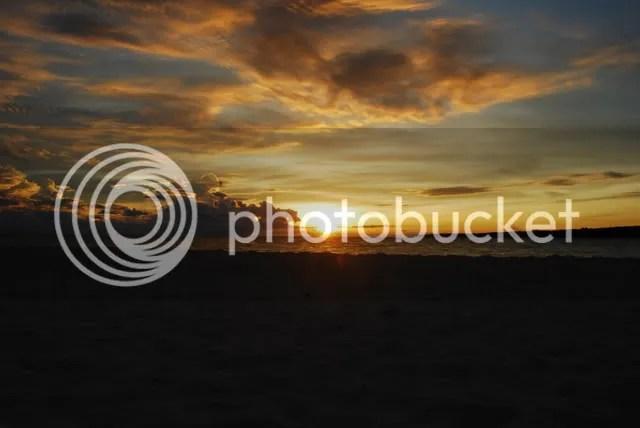 Sunrise at White Island