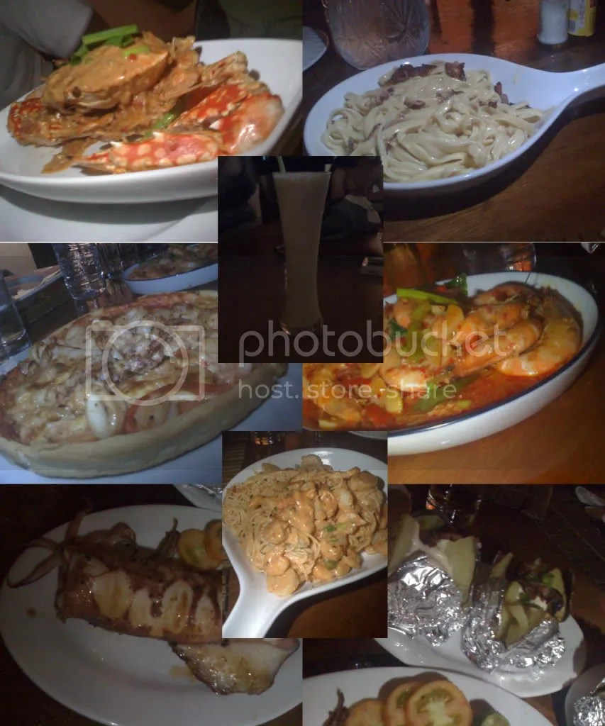 Dishes we ordered at Blue Ice Bear Restaurant