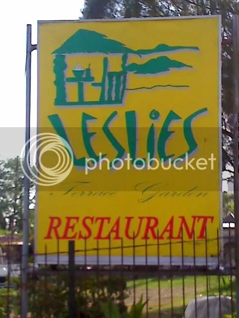 Leslies Restaurant in Tagaytay