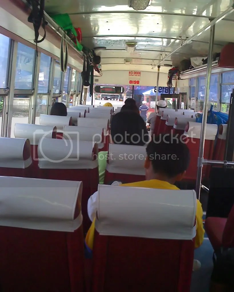Ceres Bus from North Terminal to Hagnaya Port